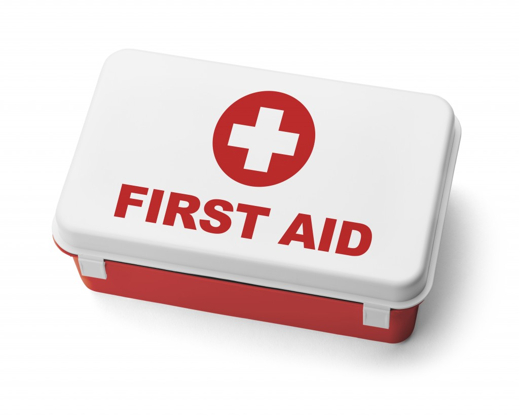 First aid requirements at construction site