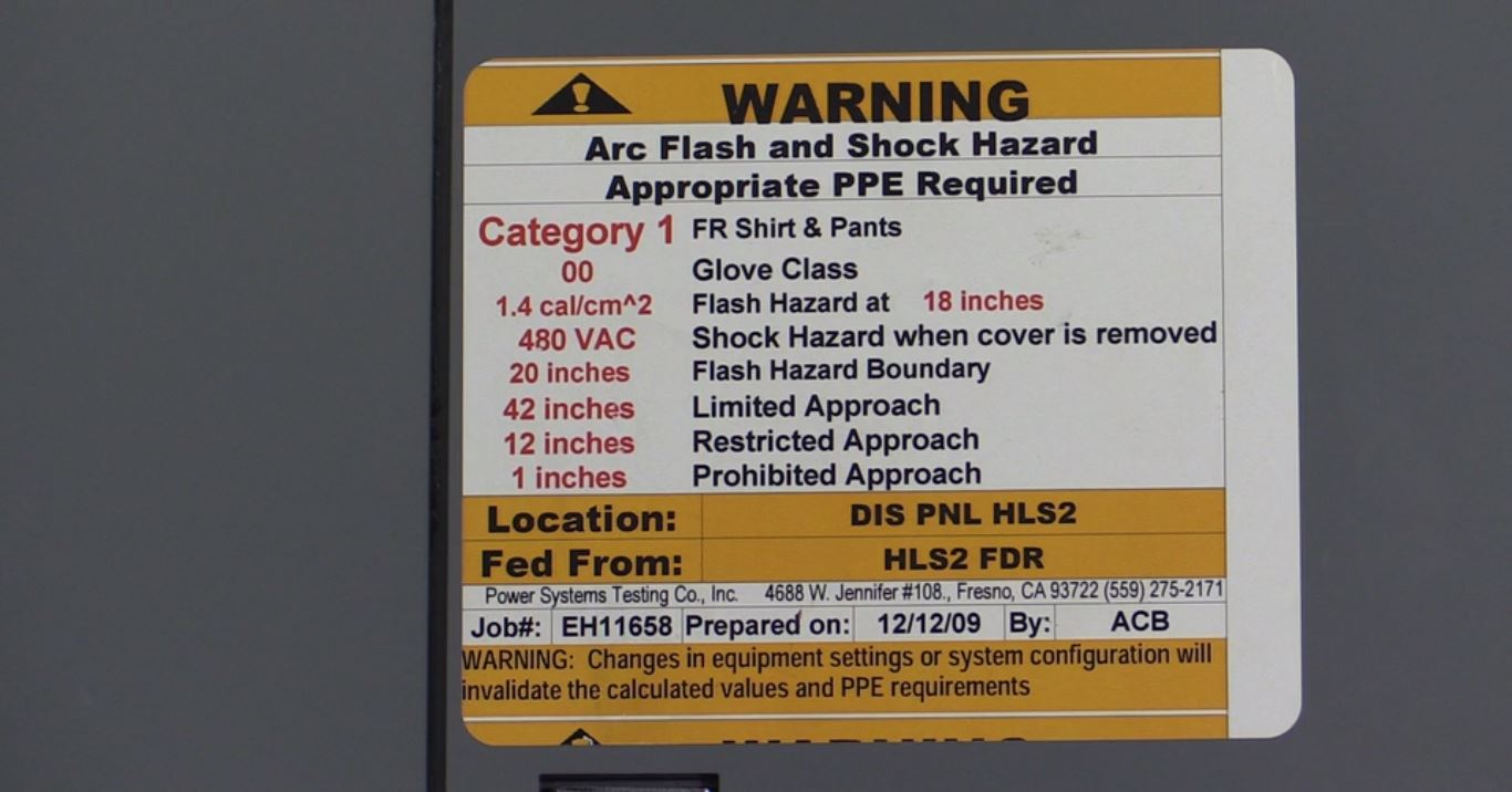 Arc Flash Protection -Safety Moment #3