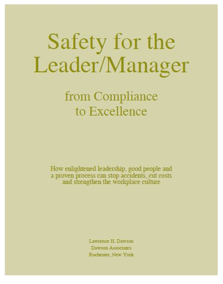 E-Books:Safety For The Leader and Manager