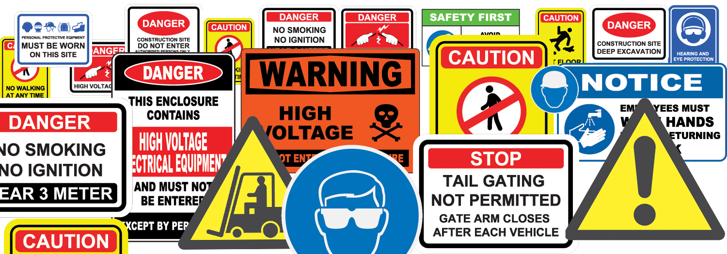 The difference between Safety Labels vs Signs
