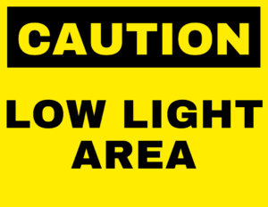 low-light-safety-sign