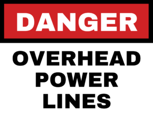 free-overhead-lines-safety-sign
