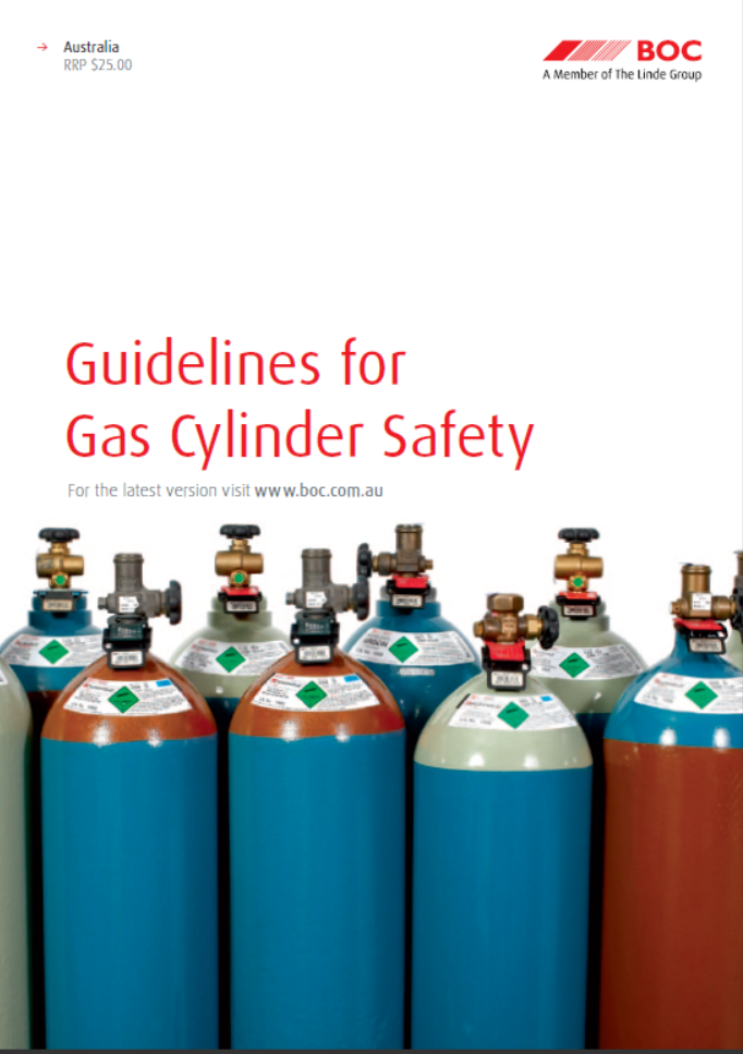 E-Books:Guidelines for Gas cylinders safety