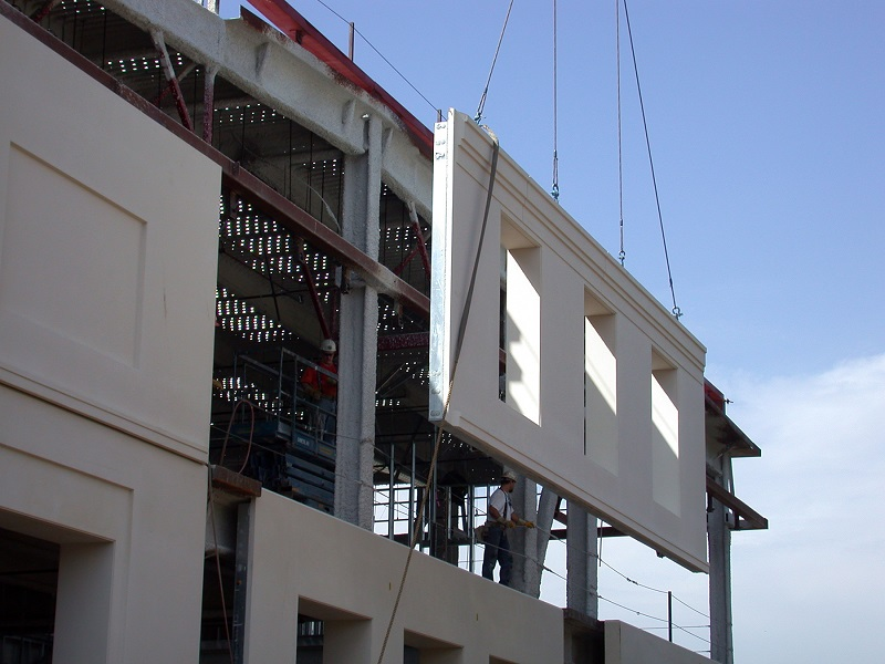 precast-concrete-wall-panel-install