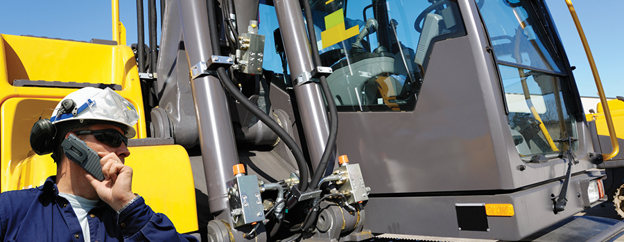 Keep Heavy Equipment Operations on Track