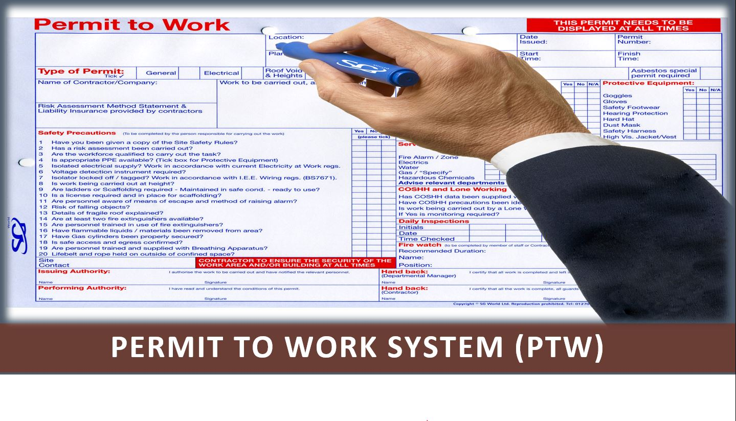 Permit to Work (PTW ) AUDIT CHECKLIST
