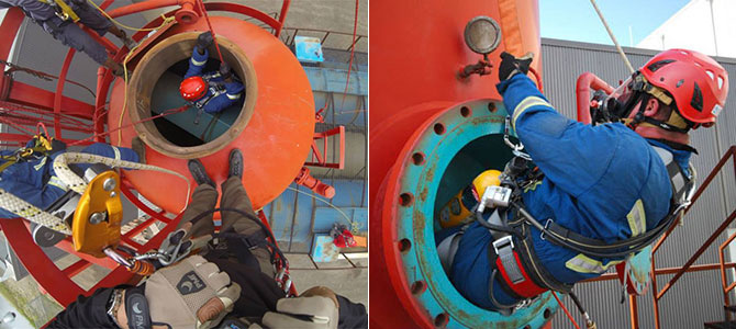 Rescue Someone from a Confined Space