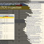 Temporary Construction Facilities (TCF) Inspection checklist