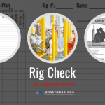 35 Inspection forms for Rig Check